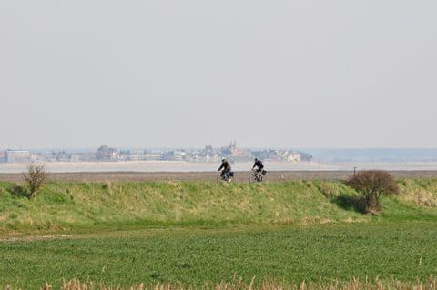 Digue Baie de Somme